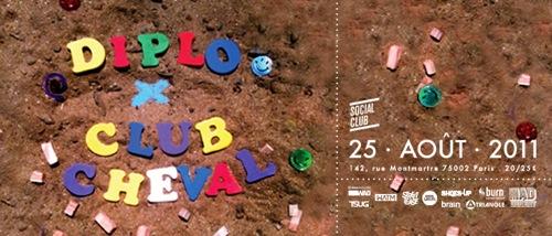 CLUB CHEVAL w/ DIPLO, CANBLASTER, MYD, SAM TIBA, PANTEROS666 @ SOCIAL CLUB
