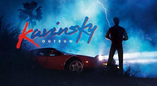 Kavinsky -  outrun cover