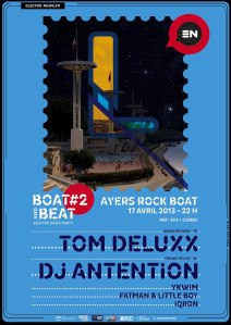 affiche boat and beat party 2